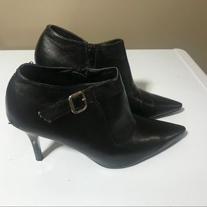 Women's cute bootie heel